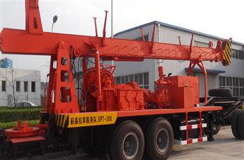 SPT-300 Water Well Drill Rig