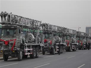 15 sets of our drilling rig are exported to Bolivia