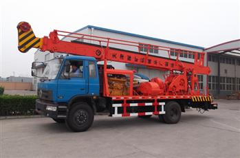 SPC-300D(4×2) Water Well Drill Rig